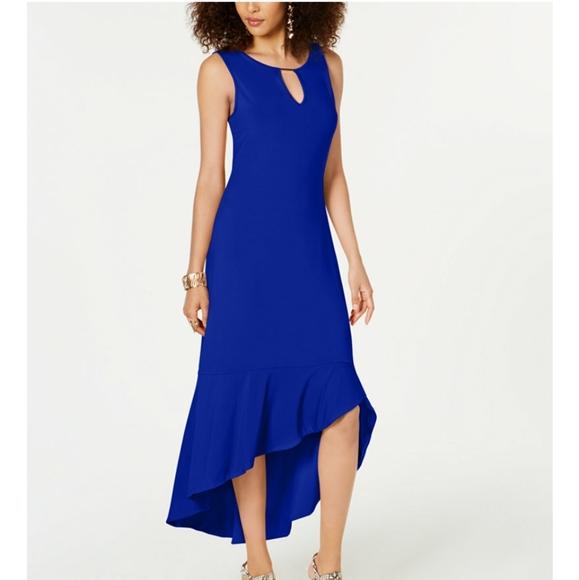 Thalia Sodi Dresses & Skirts - THALIA SODI Flounce-Hem Maxi Dress